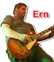 Ern - Lead Guitar/Vocals