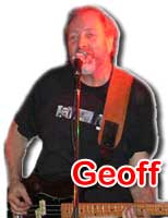 Geoff - Bass/Vocals